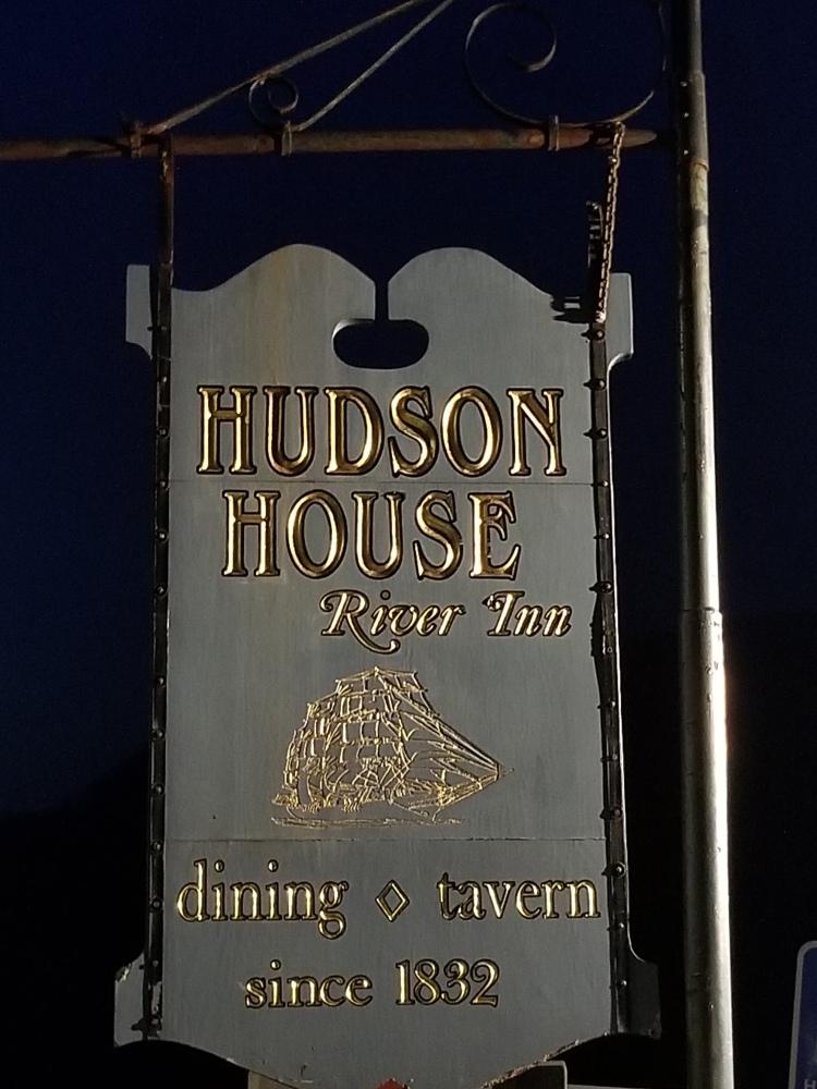 Hudson House Sign